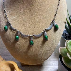 Sterling Modernist Necklace